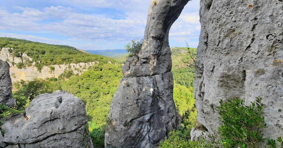 Les plus beaux sites d'escalade d'Ardèche