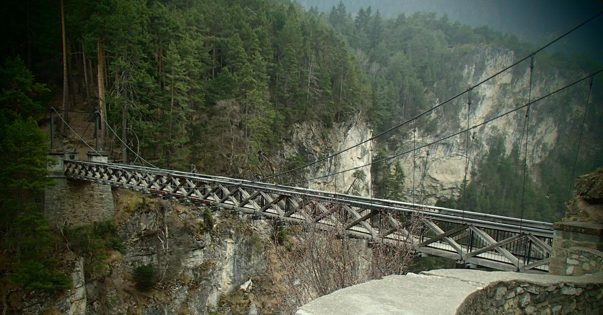 La via ferrata du Pont du Diable, 490 mètres de ballade à flanc de montagne